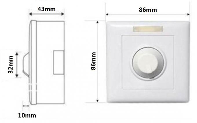 86 86 Size Knob Type Led Dimmer Switch For Led Lighting 0