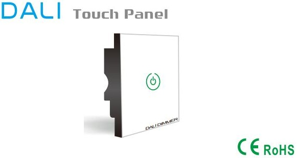 Single Channel Led Dimmer Switch With Dali Touch Panel 86