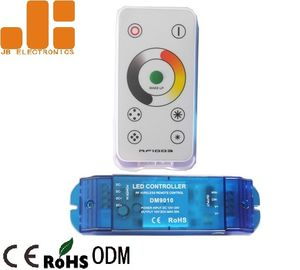 China Constant Voltage RGB RF Wireless LED Controller With 17 Preseted Modes DC12V - 24V supplier