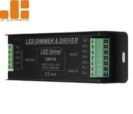 China PWM Signal IP40 0 10v LED Dimmer , Aluminium Alloy 1 10 Volt LED Dimmer supplier