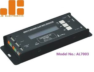 China Single Channel LED Strip Repeater , DC24V Multi Functional DMX Decoder supplier