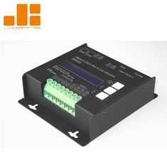 China LCD Display Black 4CH DMX Decoder With Micro - Computer Control Technology supplier