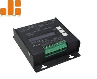 China Constant Voltage DMX512 LED Dimmer Controller With PWM Signal Max 10A*4CH supplier