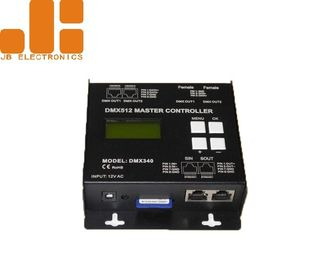 Off - Line Remote Control Dimmer , DMX512 Master Controller With SD Card Storage