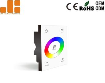 China AC100 - 240V DMX512 Touch Panel LED Dimmer Switch For 4CH RGBW LED Lights Control supplier