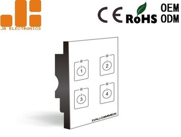 Four Channels Output Remote Dimmer Switch , DALI High Power Dimmer Switch