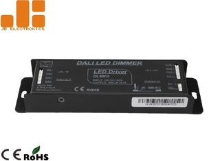 China Aluminium Alloy Shell LED DALI Dimmer , Max 6A*2CH Output LED Driver Dimmer supplier