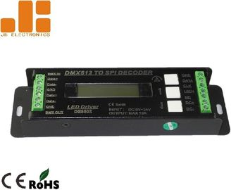 China 16A Dmx Light Controller Adapts LCD Display Wireless Dmx Controller With 26 Programs supplier