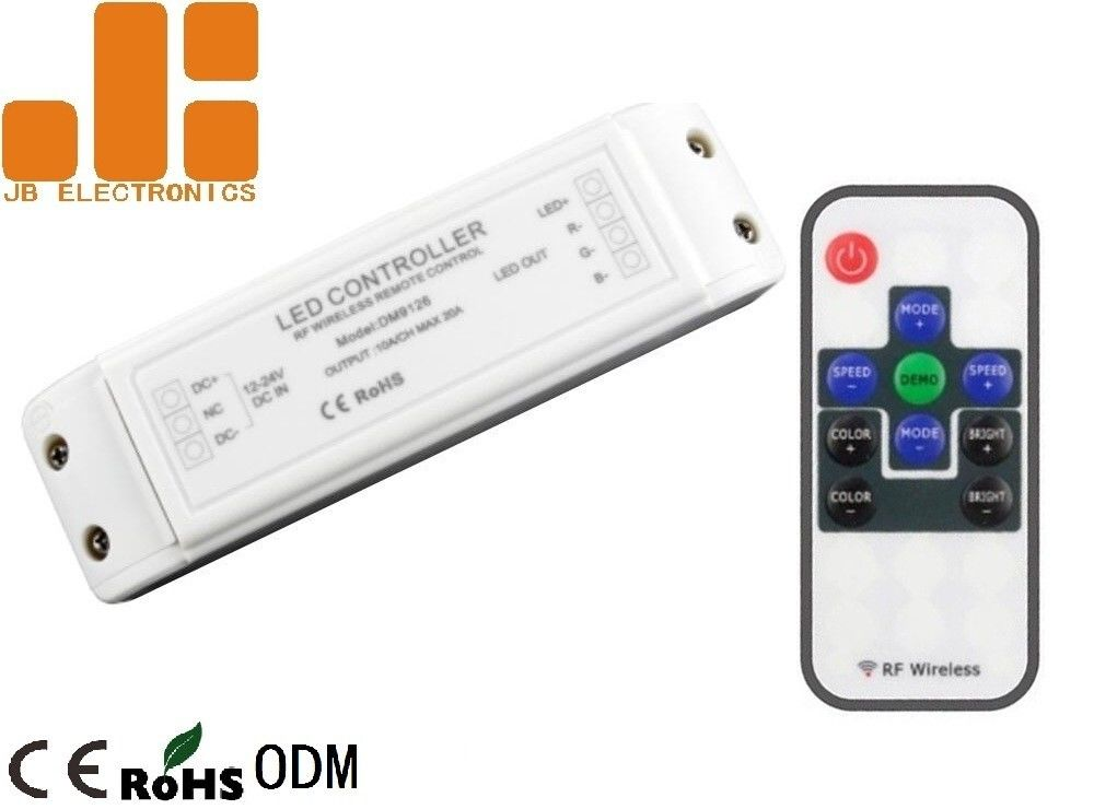 3 Channels Output RF Wireless LED Controller Use In LED