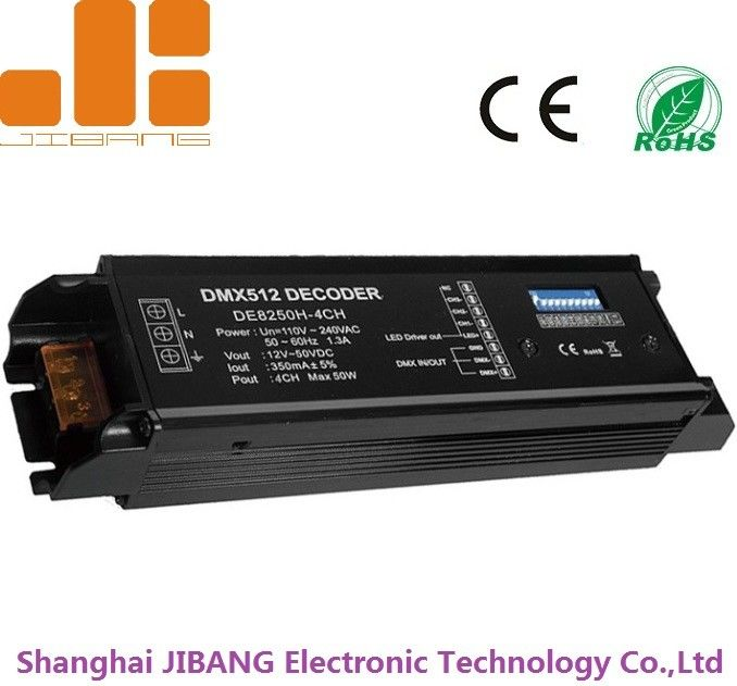 High Voltage LED DMX512 Decoder With 4 Channels Constant