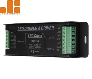 PWM Signal IP40 0 10v LED Dimmer , Aluminium Alloy 1 10 Volt LED Dimmer