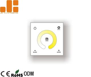 Color Temperature Electronic Dimmer Switch , 2CH Control Dimmer Switch For LED Strip Lights