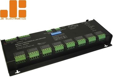 Customized DMX512 LED Dimmer Controller For RGBW Lighting Max 4A*32CH