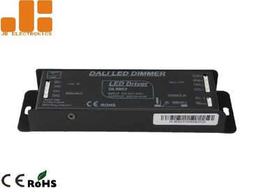 China Aluminium Alloy Shell LED DALI Dimmer , Max 6A*2CH Output LED Driver Dimmer factory