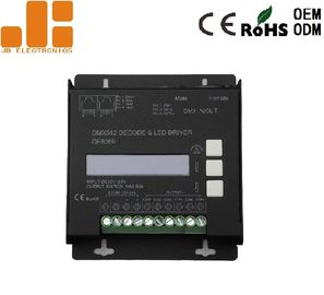 China Aluminium Alloy Housing Dmx512 Master Led Controller With Standalone Dimming Function factory