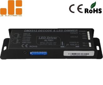 China Max 240W Power LED Dimmer Controller DC12-24V With RJ45 And Push Terminals factory
