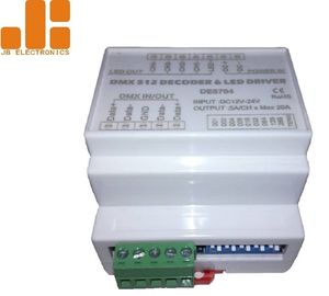 China DIN Rail Version Rf Led Controller / Led Light Controller With ABS Material factory